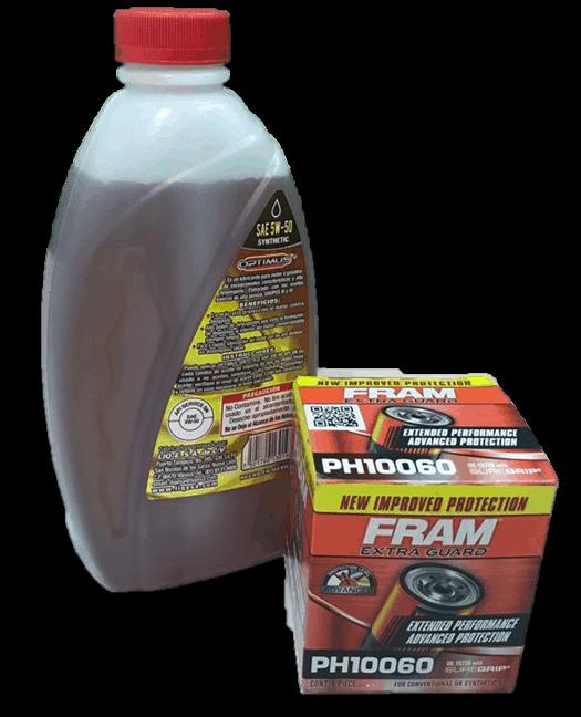 Cambio de aceite y filtro