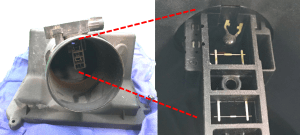 Polvo en el sensor MAF