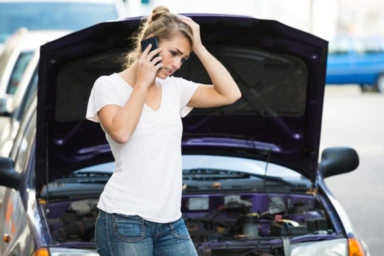 Foto de sistema de arranque del auto