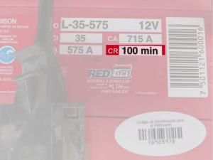 La capacidad de reserva de la batería
