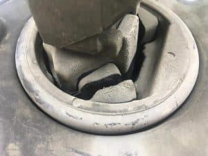 Soporte de motor totalmente dañado