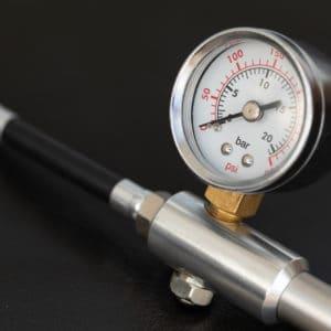 Manómetro para combustible