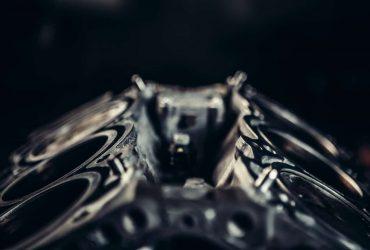 Fondo motor del auto